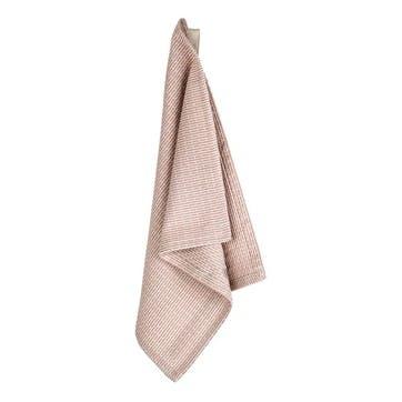 Pique Weave Kitchen Wash Cloth, L35 x W30cm, Stone Rose