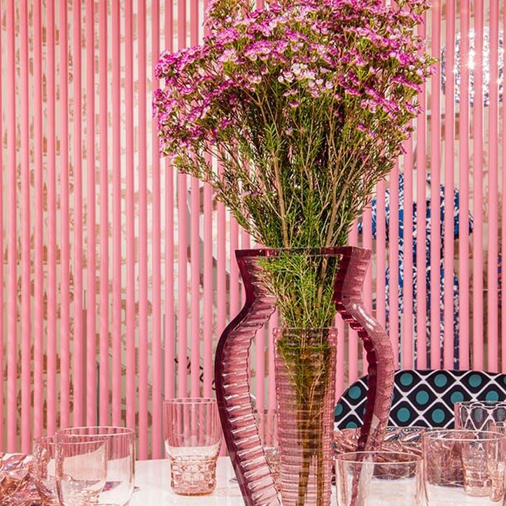 I Shine, Vase, Pink
