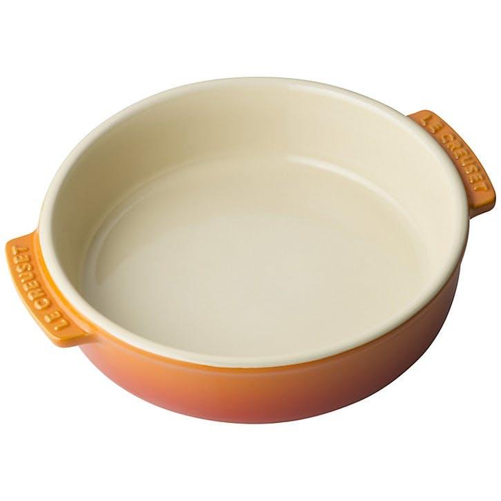 Stoneware Tapas Dish; Volcanic