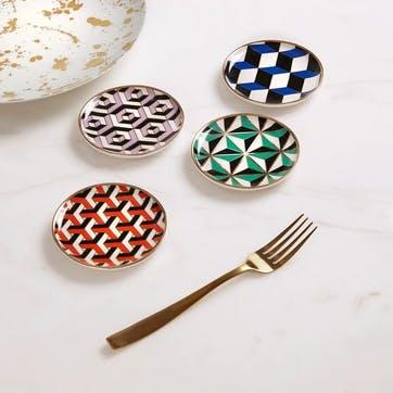 Versailles Coasters, Set of 4