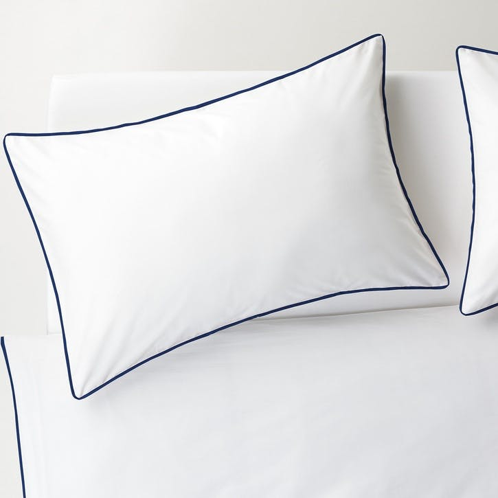 Bobbi Super King Duvet Set, Navy