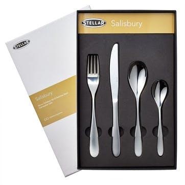 Salisbury Cutlery Set, 24 Piece