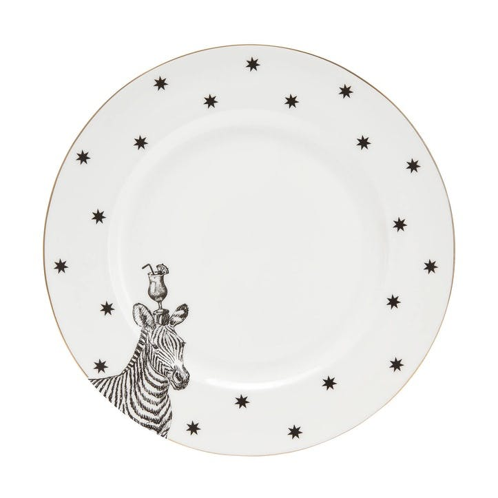 Party Zebra Side Plate
