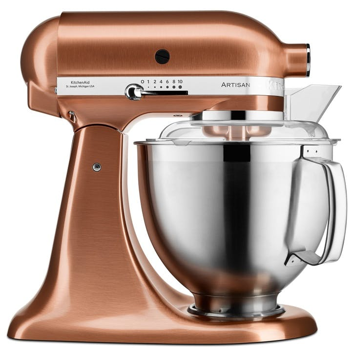 Artisan Stand Mixer with FREE Glass Mixing Bowl, 4.8L, Copper