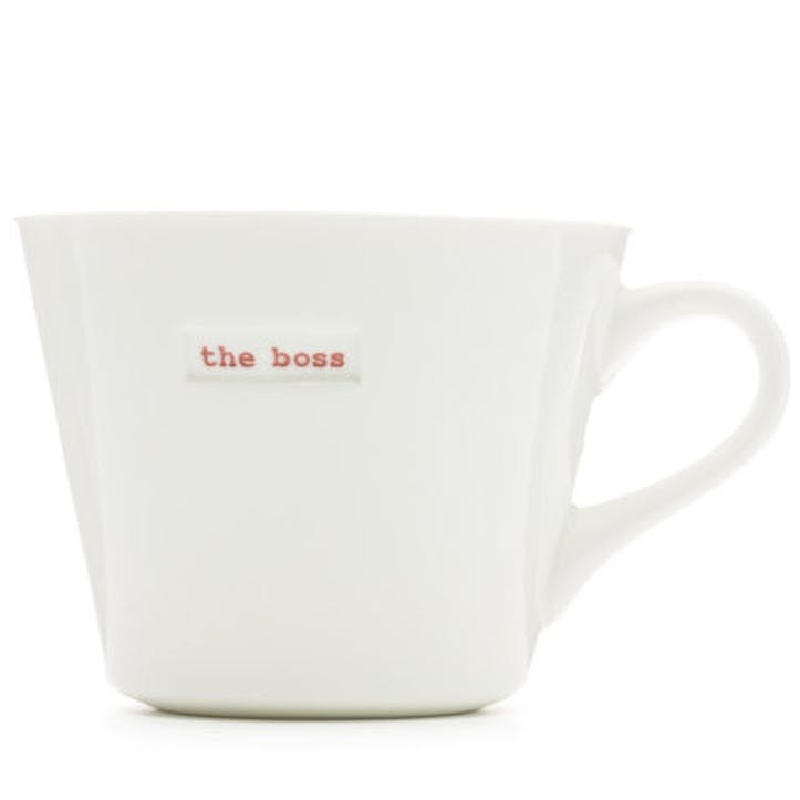 'The boss' Bucket Mug, 350ml