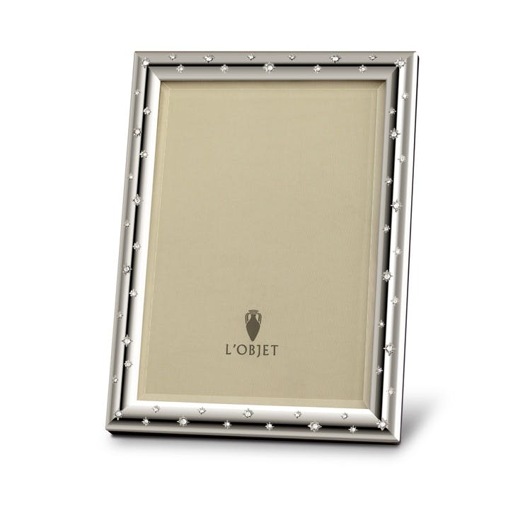Stars Platinum Photo Frame, 18 x 13 cm