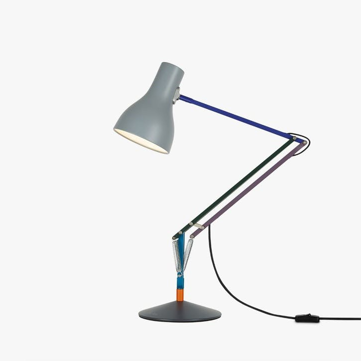 Desk Lamp Multicolours and Grey
