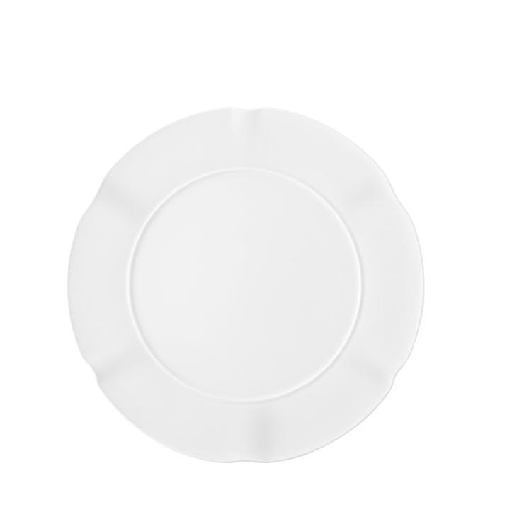 Crown White Dessert/ Starter Plate