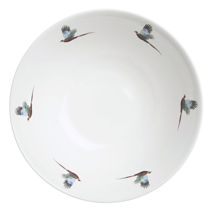 'Pheasant' Flying Cereal Bowl