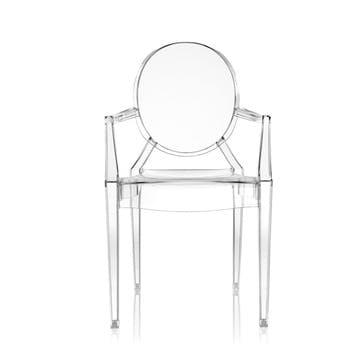 Louis Ghost, Pair of Armchairs, Crystal