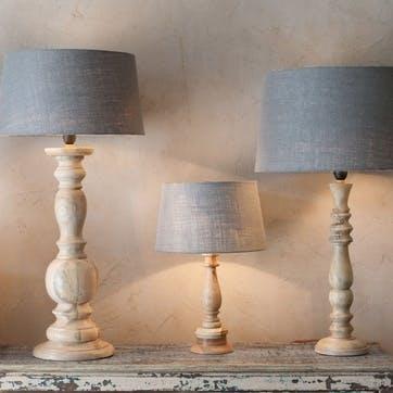 Usha Mango Wood Lamp Base