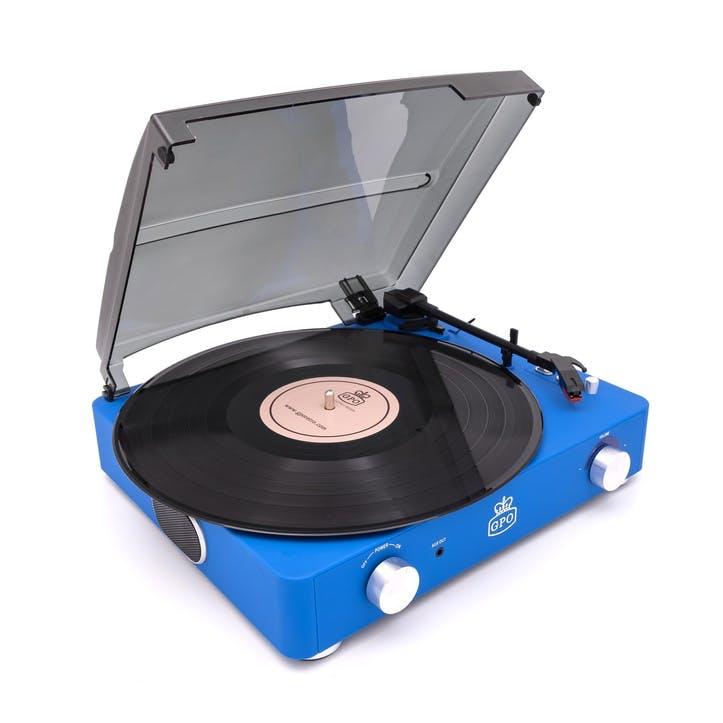 Stylo II Turntable; Cobalt Blue