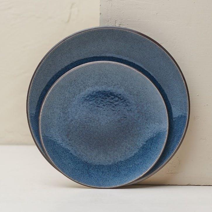 Bao Side Plate; Navy