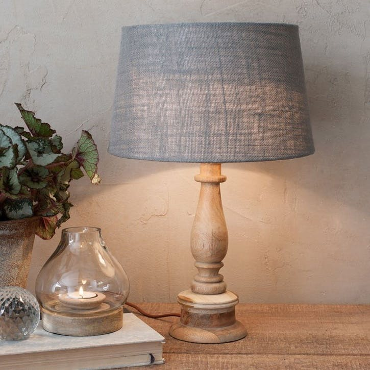 Usha Mango Wood Lamp Base