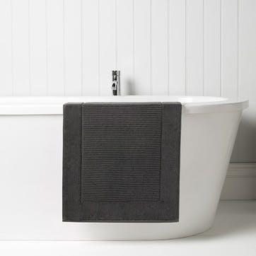 Supreme Supima Hygro Graphite Bath Mat