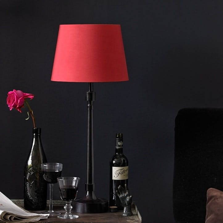Jackson Table Lamp in Bronzed Brass, 51cm