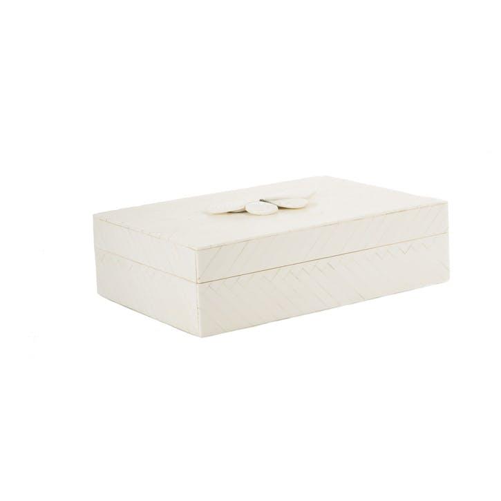 Kasai Herringbone Butterfly Box