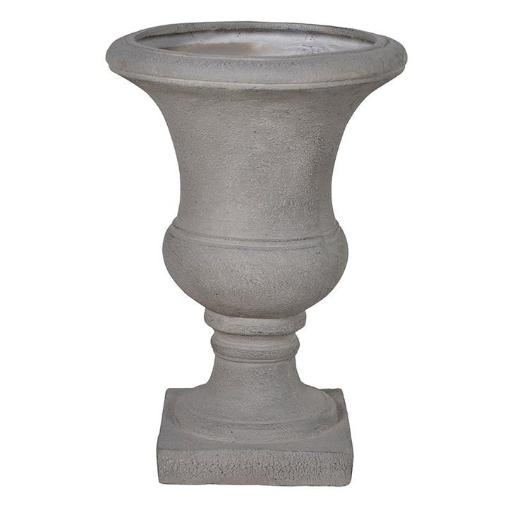 Grey Stone Look Garden Urn