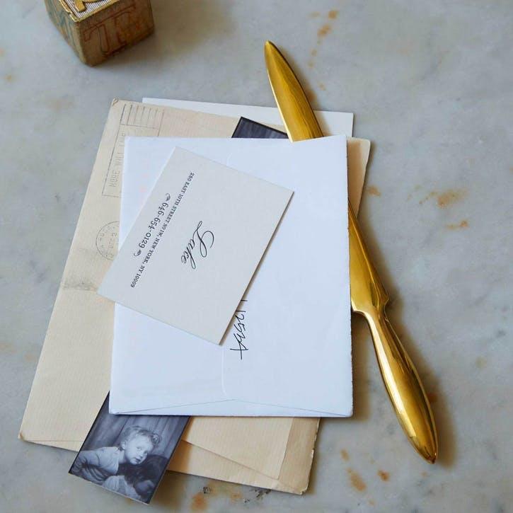 Letter Opener, Brass