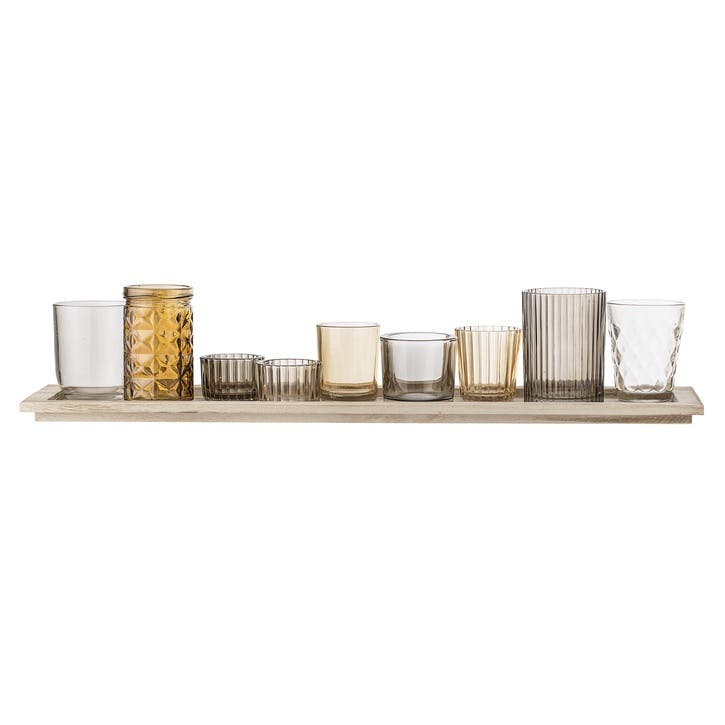 Votive Tray Set, Golden
