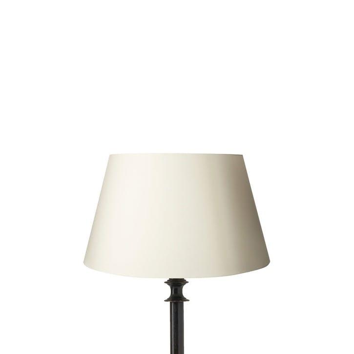 Drum Cotton Lampshade, 30cm, Off-White