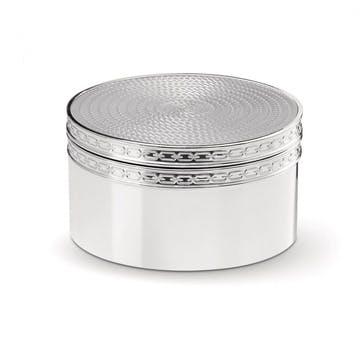 With Love Nouveau Silver Box