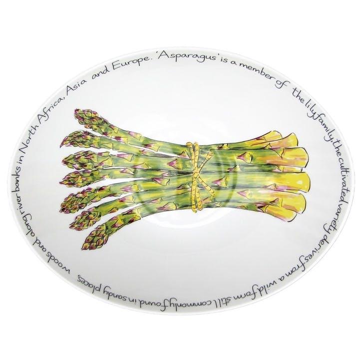 Asparagus Oval Bowl - 27cm