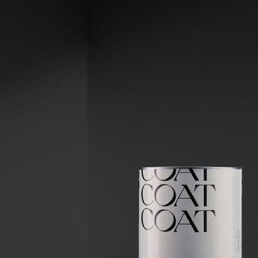 Flat Matt Wall & Ceiling Paint, The Record Store True Black 2.5L