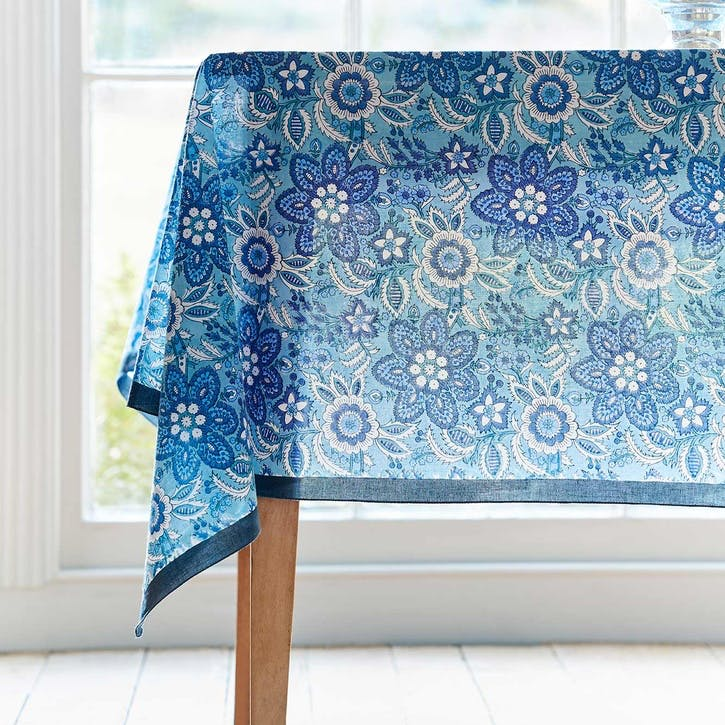 Provence Voile Hand-Printed Tablecloth