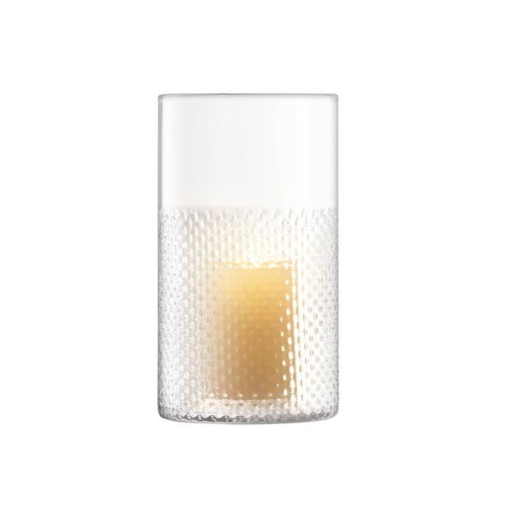 Wicker Vase/Lantern, H25cm