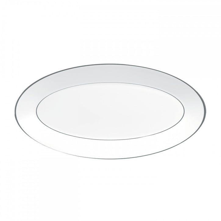 Platinum Oval Dish, Medium