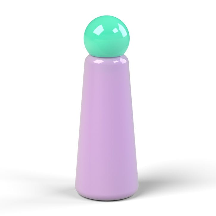 Skittle, Water Bottle, 500ml, Lilac & Turquoise