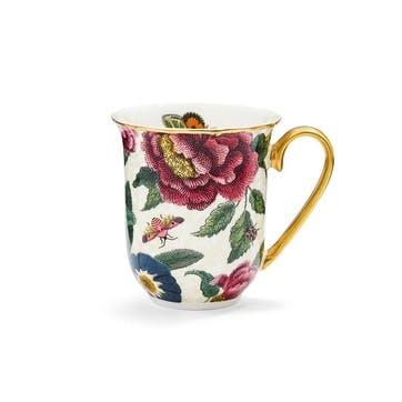 Mug Cream, Floral