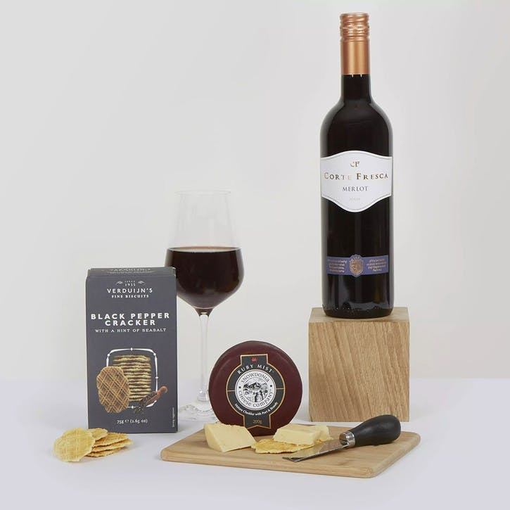 Classic Cheese & Wine Gift Box