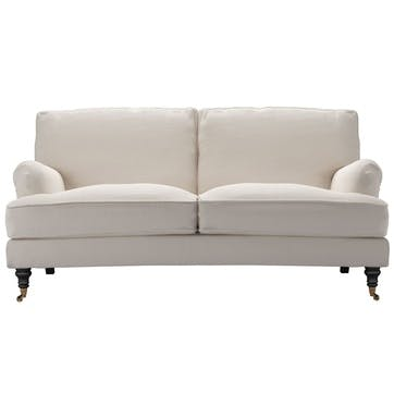 Bluebell Sofa, Two and a Half Seat, Taupe Brushed Linen