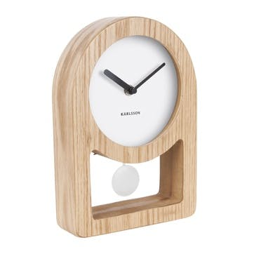 Lena Pendulum Table Clock