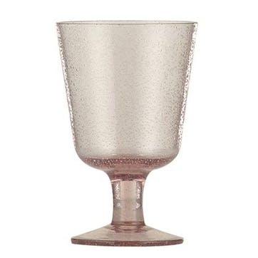 Old Rose Wine Glasses, Set of 4