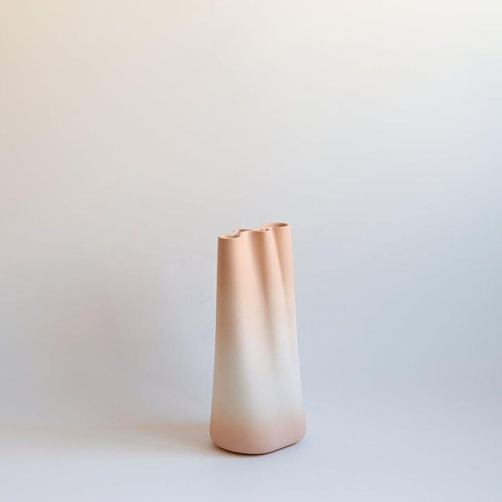 Jumony Tall Vase, Peach