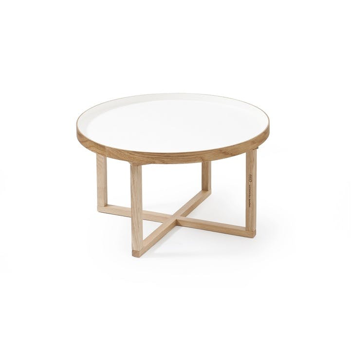 66D Round Table, White Oak