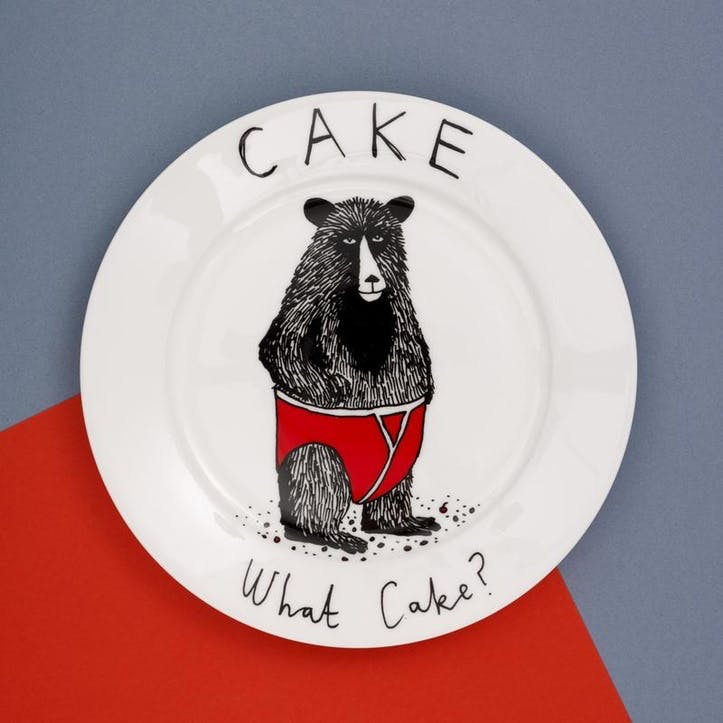 'Cake, What Cake?' Side Plate
