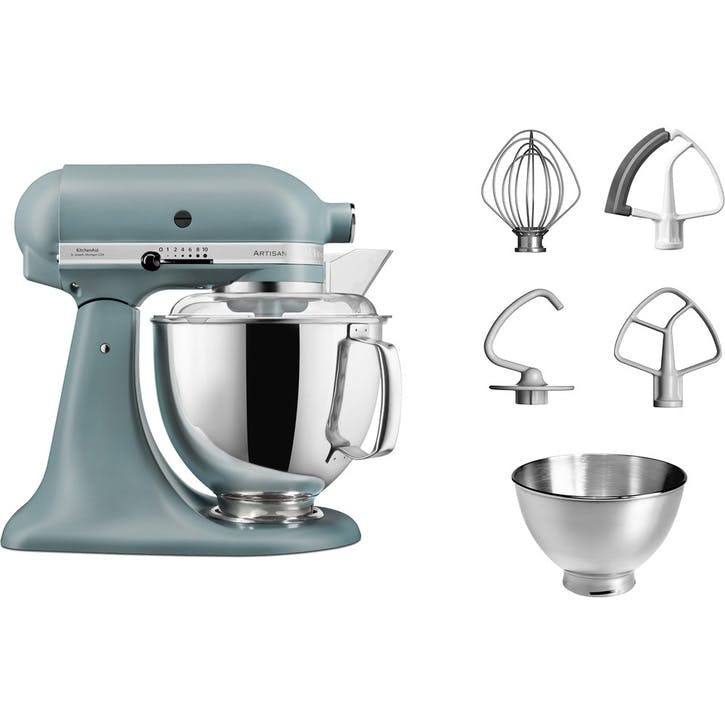 Artisan Stand Mixer with FREE Glass Mixing Bowl, 4.8L, Fog Blue