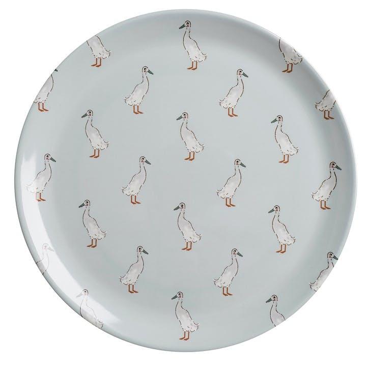 'Runner Duck' Melamine Dinner Plate
