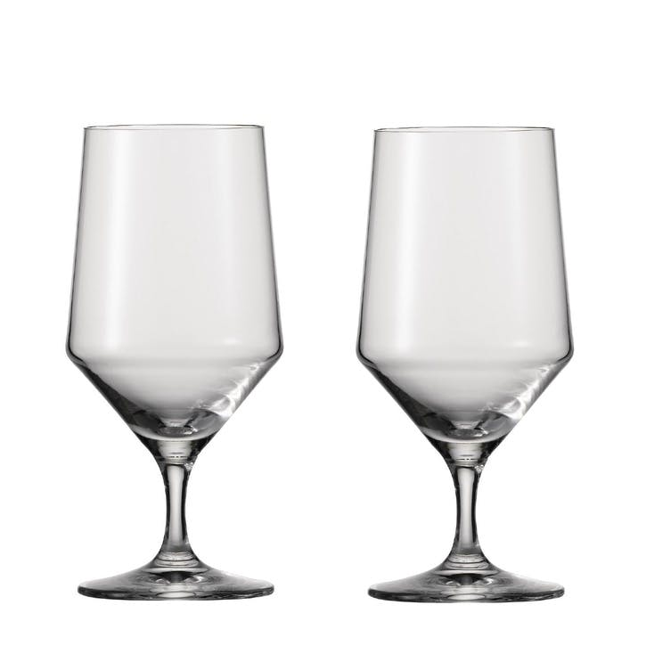 Pure Water/ Beer Glasses, Set of 6