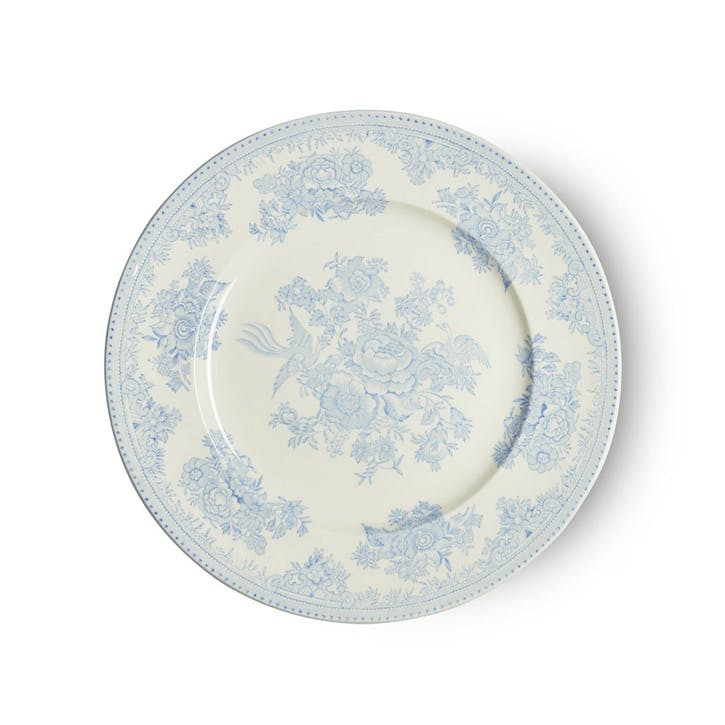Asiatic Pheasants Plate, 22cm, Blue
