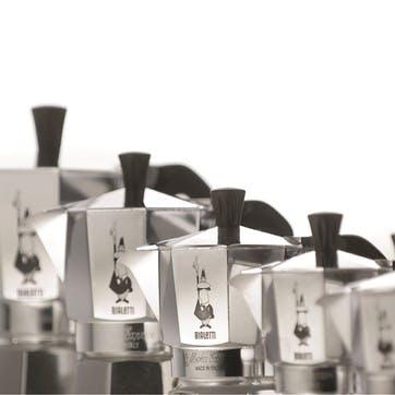 Moka Express Espresso Maker, 9 Cup, Silver