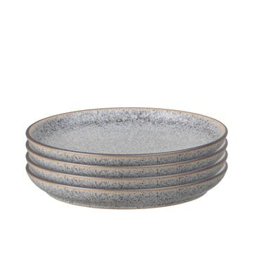 Studio Grey Coupe Dinner Plate, Set of 4