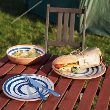 Lulworth Melamine Snack Plate