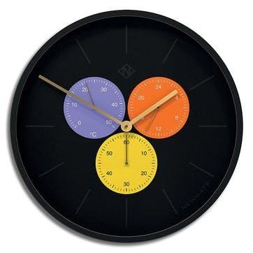 Snake Eye Triptick Clock