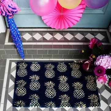 Doormat Pineapples, 75 x 45cm