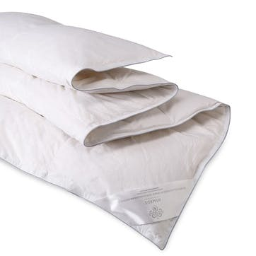 Silver Collection Hungarian Goose Down Duvet 4.5 Tog - Double
